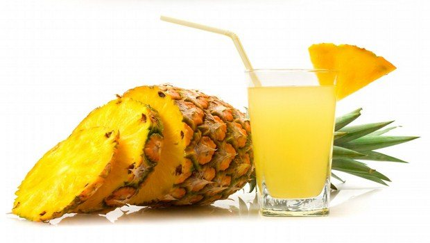 home remedies for moles-pineapple juice