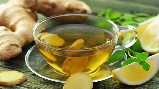 home remedies for throat infection-ginger tea or honey tea