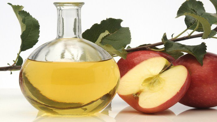 how to get rid of cradle cap-apple cider vinegar