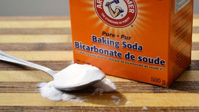 how to get rid of cradle cap-baking soda