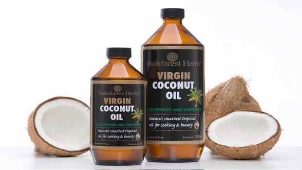 how to treat burns on hand-coconut oil