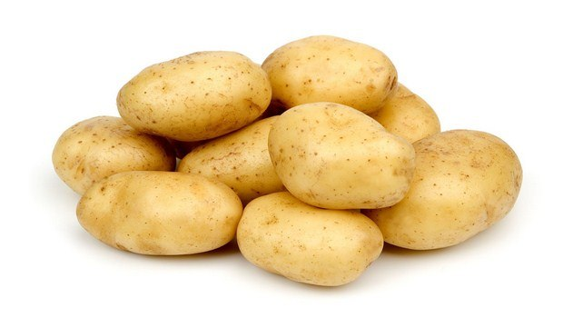 how to treat burns on hand-potato