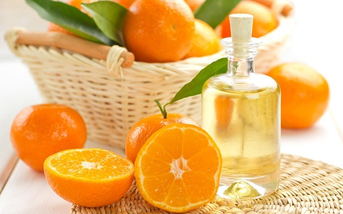 essential oils for weight loss - orange essential oil