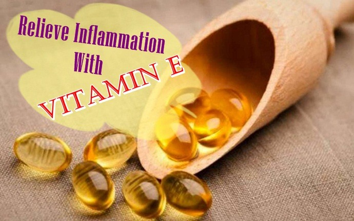 home remedies for tendonitis - relieve inflammation with vitamin e