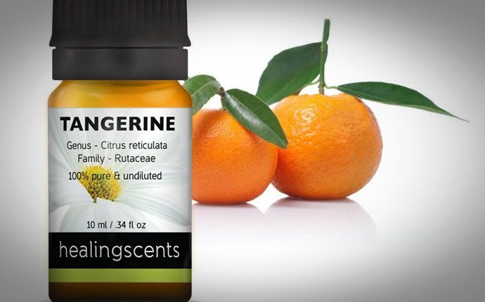 essential oils for weight loss - tangerine essential oil