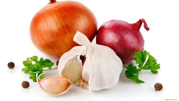 foods that fight inflammation-garlic and onions
