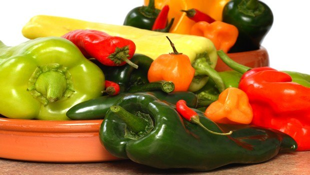 foods that fight inflammation-peppers