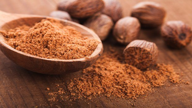 home remedies for atopic dermatitis-nutmeg