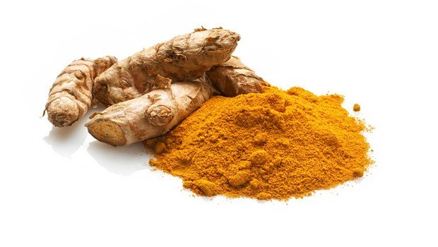 home remedies for dark elbows-turmeric