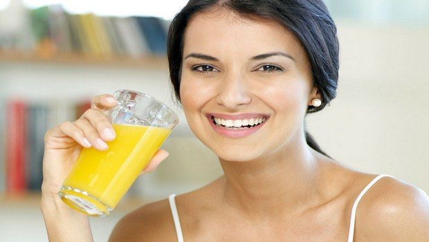 how to cure bronchitis-drink orange juice