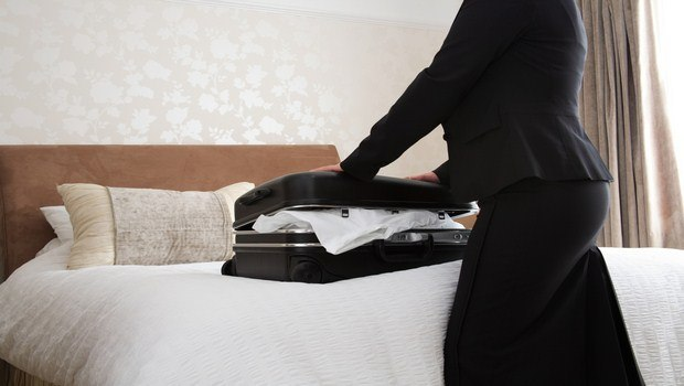 how to prevent bed bugs-check before unpacking during a trip away from house