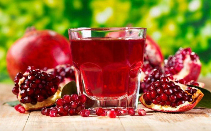 home remedies to increase breast size - pomegranate juice