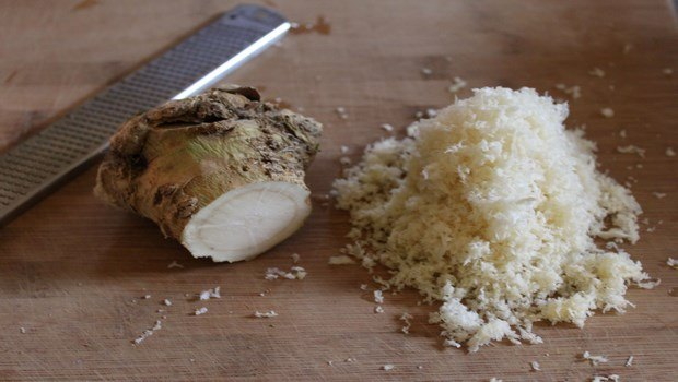 home remedies for age spots-horseradish