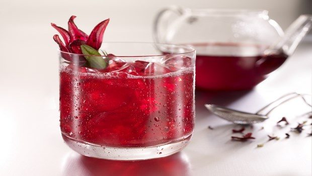 home remedies for chest pain-hibiscus tea