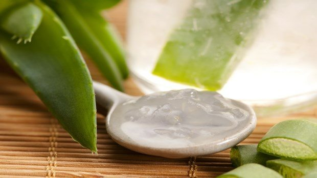 how to get rid of chicken pox scars-aloe vera gel