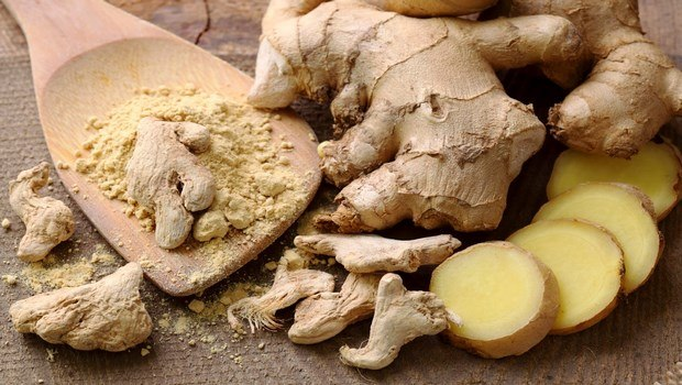 how to treat chest pain-ginger