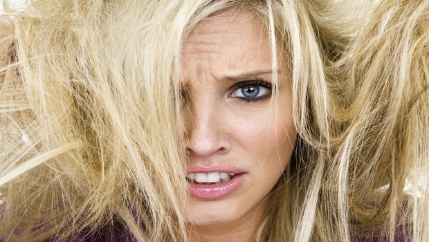 common hair problems-dry, brittle hair