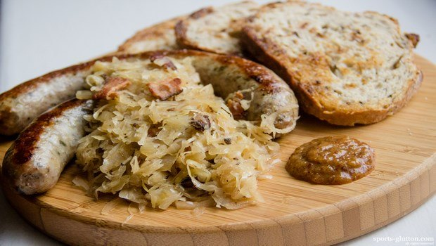 foods that cause high blood pressure-sauerkraut