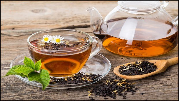 hair restoration for women-black tea