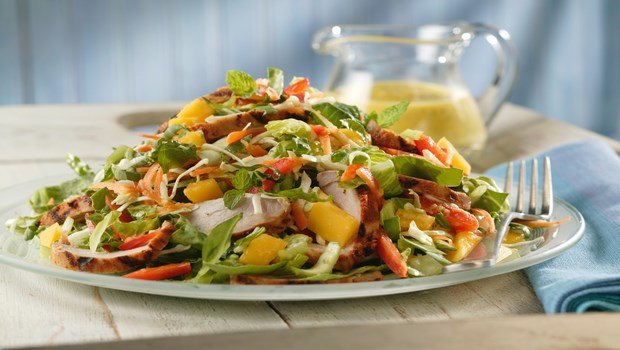 healthy dinner ideas for weight loss-thai salad
