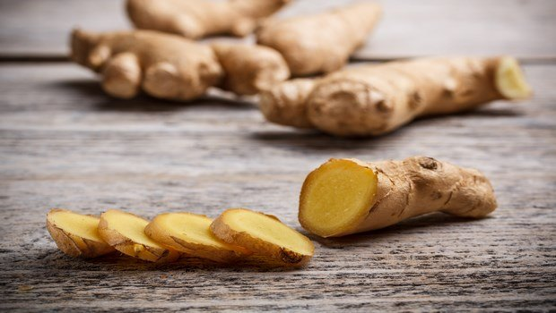 how to cure gout-ginger root