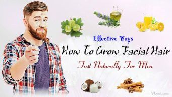 how to grow facial hair naturally