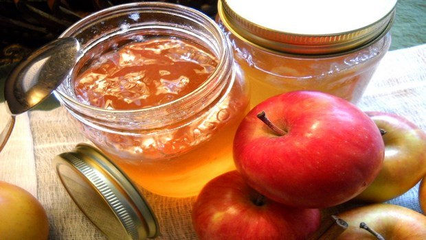 how to make jelly-apple jelly with honey or sugar