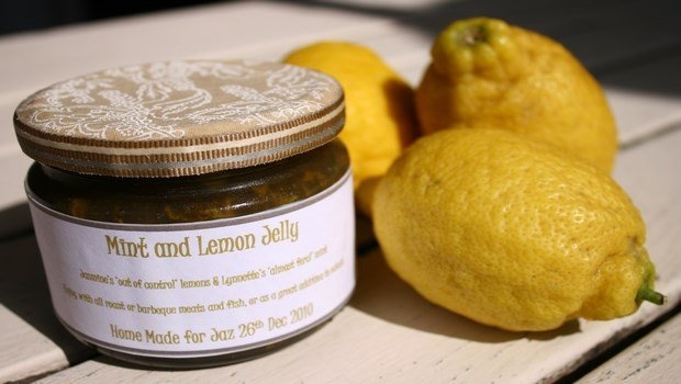 how to make jelly-lemon jelly
