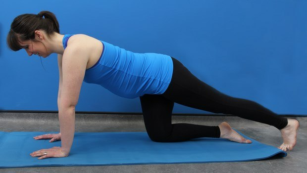 how to relax during pregnancy-practice gentle exercises