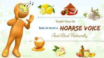 how to treat a hoarse voice from cold