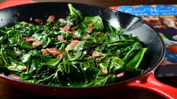 vegetable side dish recipes-collard greens
