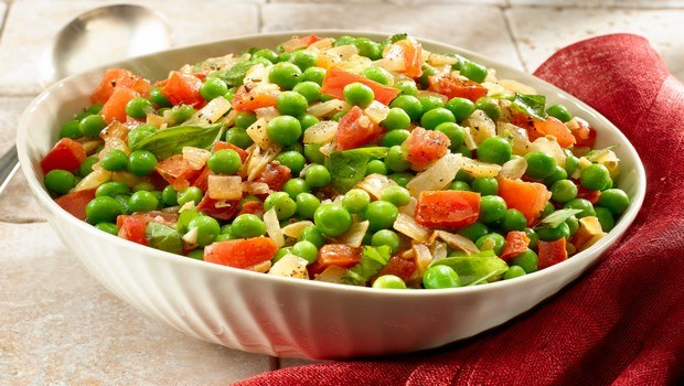 vegetable side dish recipes-italian peas