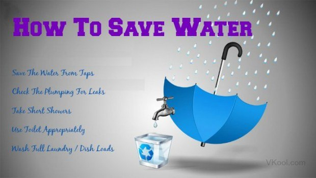 12 tips on how to save water at home for How to conserve water at home