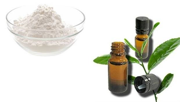 baking soda face mask - baking soda and tea tree oil for oily skin