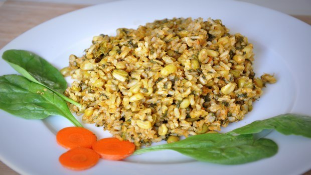 brown rice recipes-brown rice pulav