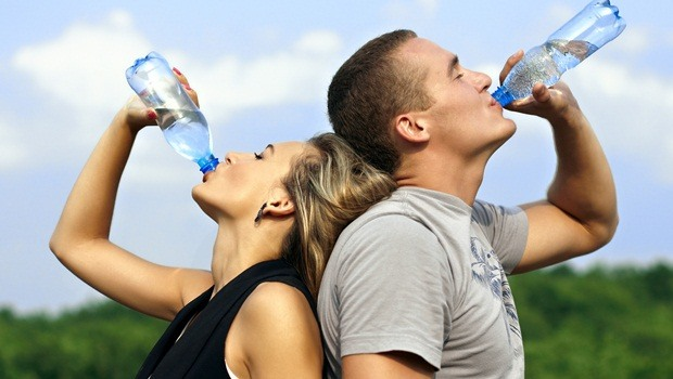 how to increase muscle strength - drinking water
