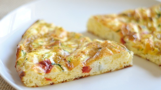 high protein low carb recipes - egg white frittata