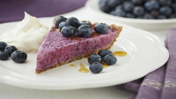 low-calorie dessert recipes-frozen pie