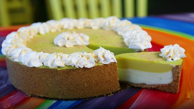 low-calorie dessert recipes-lime pie