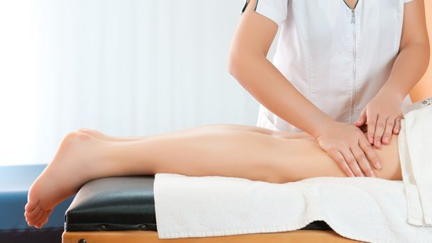 how to treat muscle cramps - massage