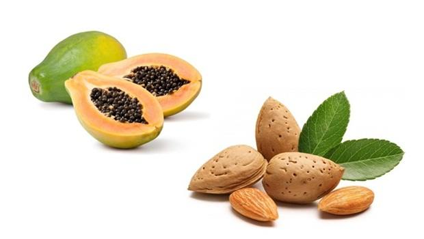papaya face mask - almond and papaya face mask for fairness
