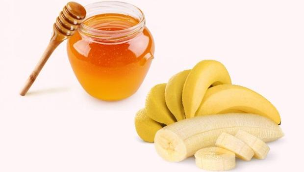banana hair mask - banana and honey