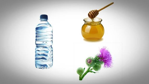 how to treat sebaceous cysts - burdock, water, and honey