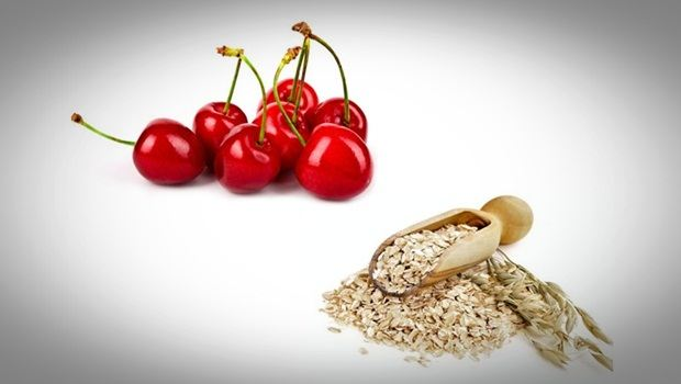 oatmeal face mask - cherry and oatmeal face mask