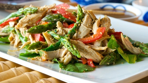 diet for good health - chicken salad
