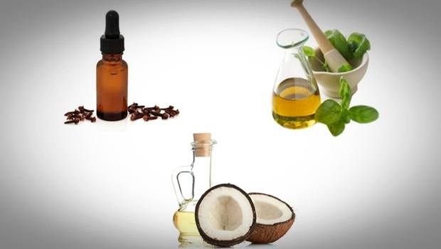 how to treat swollen gums - clove oil, oregano oil, and coconut oil