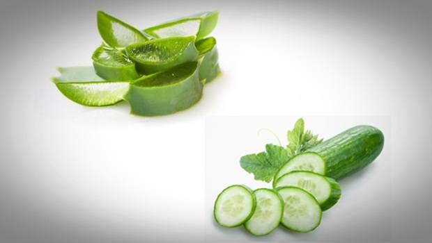 aloe vera face mask - cucumber and aloe vera face mask