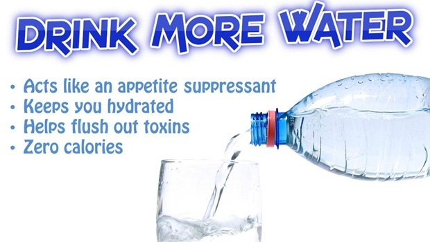 how to help sore muscles - drink more water