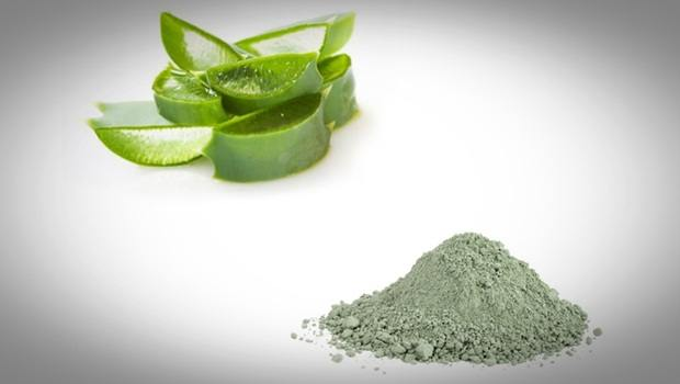 aloe vera face mask - french green clay and aloe vera face mask