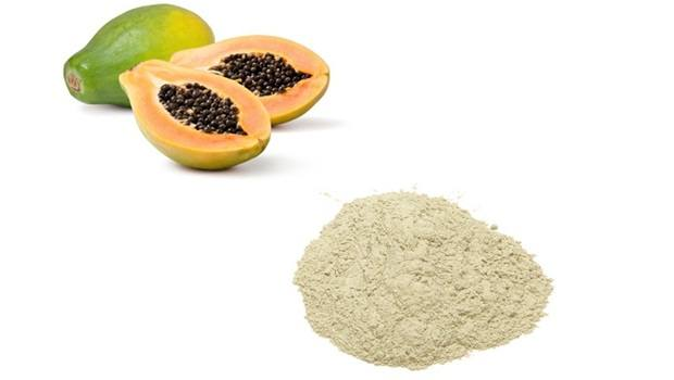 papaya face mask - fuller's earth and papaya face mask for oily skin